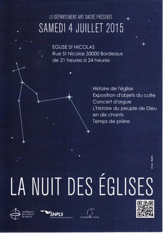 nuit des eglises saint nicolas