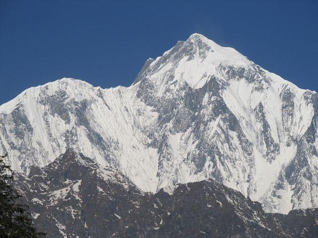 Premieres glaces du massif des Annapurnas