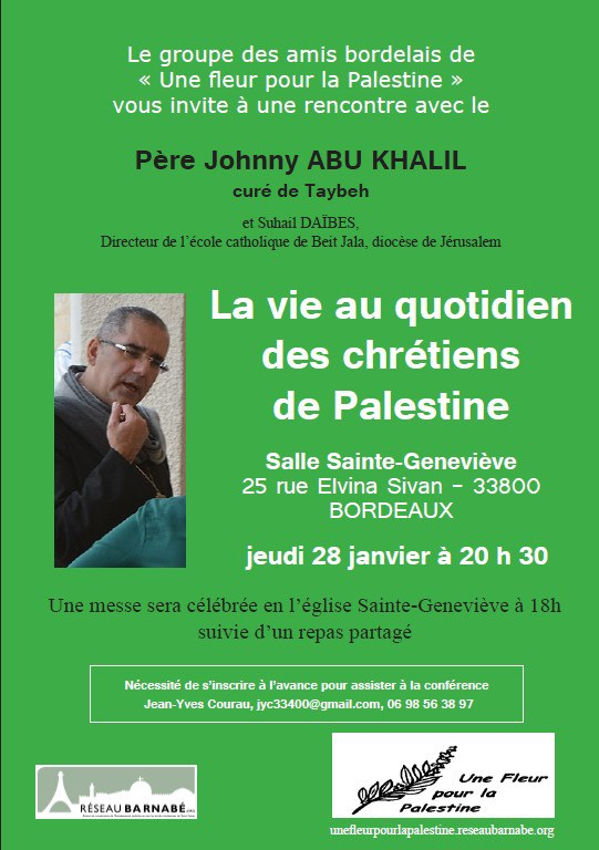 vie palestine affiche