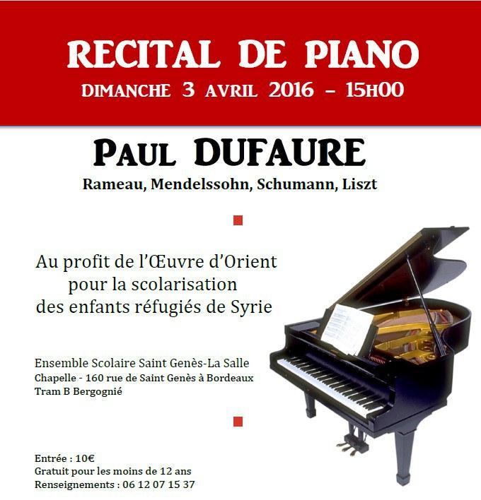 recital piano st genes
