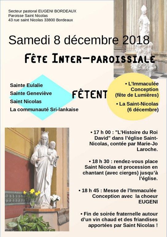 Fete Saint Nicolas 2018
